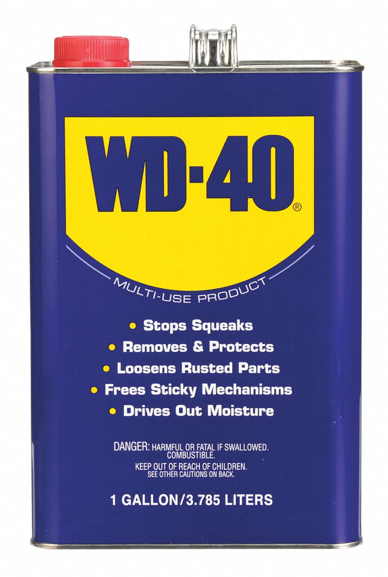 General Purpose Lubricant,  -60° to 300°F,  No Additives,  Net Fill 1 gal,  Can