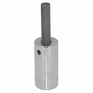 HEX SOCKET,STANDARD,3/8 IN DR,2MM
