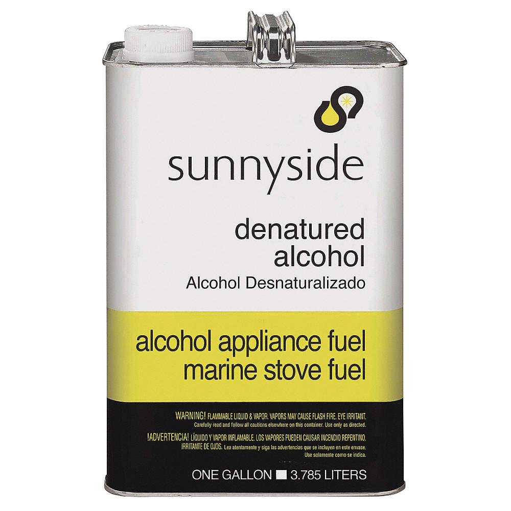 Denatured Alcohol, 1 gal , Brush, Roll, Cloth, VOC Content: Exempt