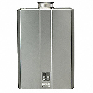 "18-1/2"" x 10-7/64"" x 25-45/64"" LP Gas Tankless Water Heater with 199.000 Input (BTU)"
