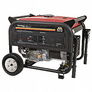 Portable Generator, 120/240VAC Voltage, 5500 Rated Watts, 9075 Surge Watts, 45.8/22.9 Amps @ 120/240