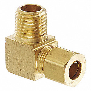 "Hydraulic Hose Fitting, 1.20"" L, SAE"