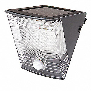 WALL LGT LED SOLAR 180 MOTION ACTIV