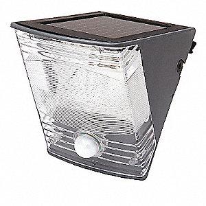 WALL LGT LED SOLAR 180 MOTION ACTIV