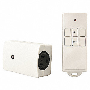 REMOTE OUTLET CNTRL WIRELESS INDOOR