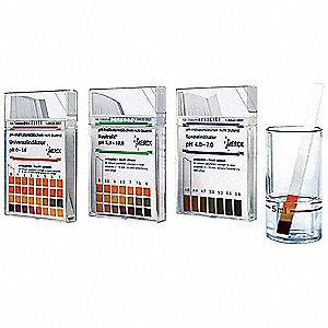 PH Test Strip,5.0 to 10.0 pH,PK100