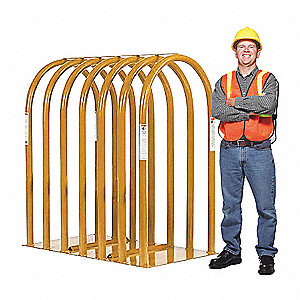"34"" x 62-3/4"" 7-Bar Tire Inflation Cage"