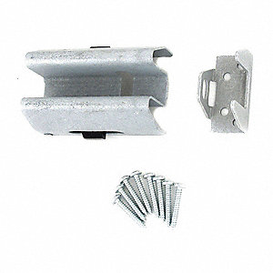 Security Hasp, 4In. H, Silver
