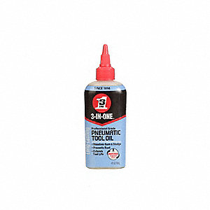 Air Tool Lubricant, 4 oz. Container Size, 4 oz. Net Weight