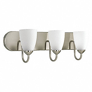 Light Fixture,39W,120V,Brushed Nickel