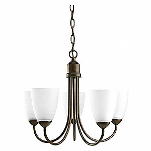 Light Fixture,500W,120V,Antique Bronze