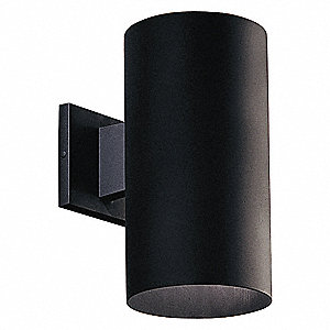 Wall Lantern,Outdoor,120V,Black