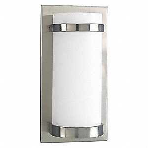 Light Fixture,100W,120V,Brushed Nickel