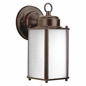 Wall Lantern,Outdoor,120V,Antque Bronze