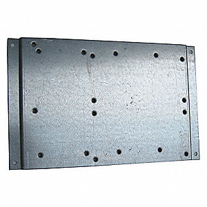Mounting Plate,For Use With Mfr. No. S811+ T Frames,Includes:  Mounting Hardware