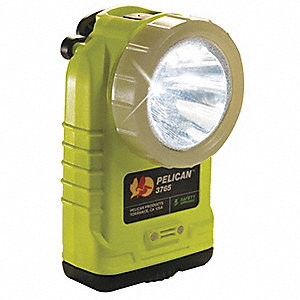 LED Hands Free Light, Plastic, Maximum Lumens Output: 172, Yellow, 5.36""