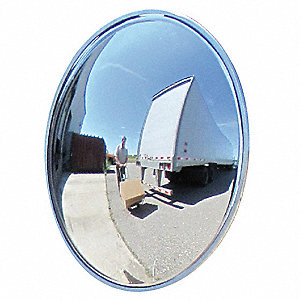 Wide View Convex,32 in.,72 ft.