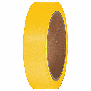 "Marking Tape, Solid, Continuous Roll, 1"" Width, 1 EA"