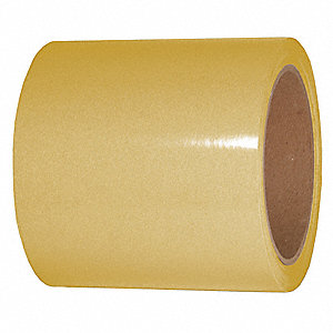 "Reflective Marking Tape, Solid, Continuous Roll, 4"" Width, 1 EA"