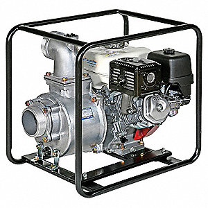 4 HP Aluminum, Cast Iron 119cc Engine Driven Centrifugal Pump, 0.66 gal Tank Capacity