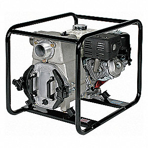 Engine Driven Trash Pump,8 HP,3 in.