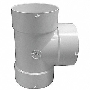 "Bull Nose Tee, Hub, 4"" Pipe Size - Pipe Fitting"