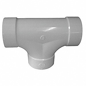 "Two Way Cleanout, Hub, 4"" Pipe Size - Pipe Fitting"