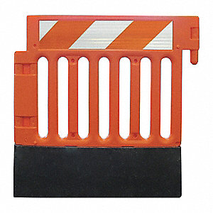 Crowd/Traffic Control Barricade,Orange