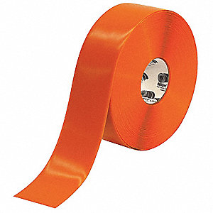 "Industrial Floor Tape, Solid, Roll, 3"" x 100 ft., 1 EA"