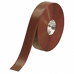 "Industrial Floor Tape, Solid, Continuous Roll, 2"" Width, 1 EA"