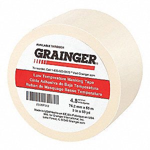 MASKING TAPE NATURAL 3IN X 60 YD.