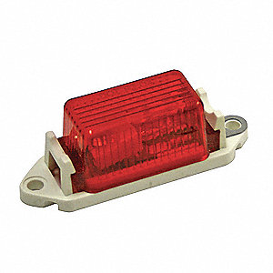 Small Clearance Light,Red,Rectangle