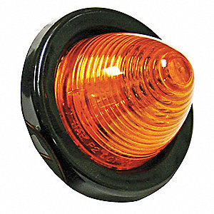 Small Clearance Light,Red,Round