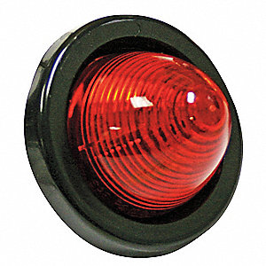 Small Clearance Light,Amber,Round
