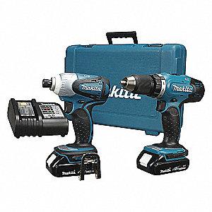 KIT COMBO 2PC DRILL/IMPACT LXT 18V