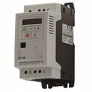 Variable Frequency Drive,1/2 Max  HP,1 Input Phase AC,115VAC Input Voltage