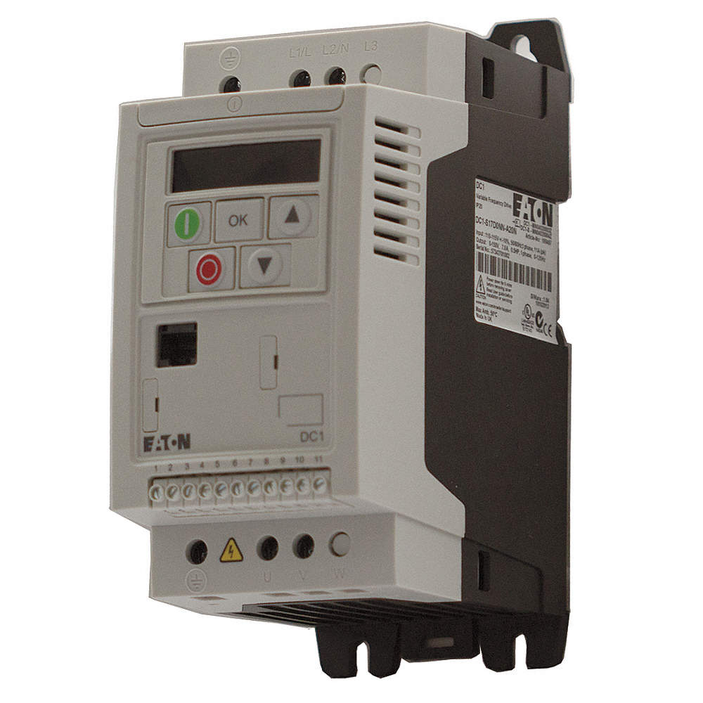 Eaton Variable Frequency Drive1 2 Max Hp3 Input Phase Ac240vac Drive Circuit Zoom Out Reset Put Photo At Full Then Double Click