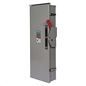 Safety Switch,600VAC,3PDT,800 Amps AC