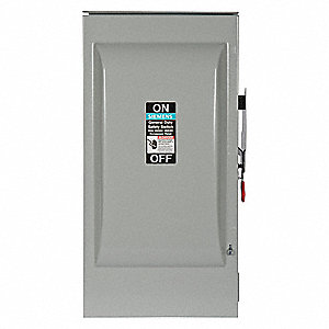 Safety Switch,240VAC,2PST,200 Amps AC