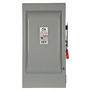 Safety Switch,600VAC,3PST,200 Amps AC