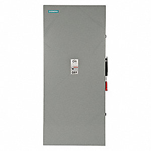Safety Switch, 1 NEMA Enclosure Type, 60 Amps AC, 50 HP @ 600VAC HP