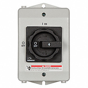 Safety Switch,600VAC,3PST,63 Amps AC