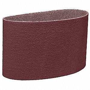 "Sanding Belt, 48"" Length, 6"" Width, Aluminum Oxide, 80 Grit, Medium, Coated, 341D, EA1"