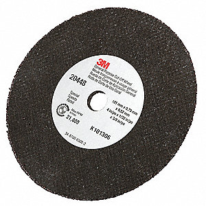 "4"" Abrasive Cut-Off Wheel, 1/32"" Thickness, 3/8"" Arbor Hole"
