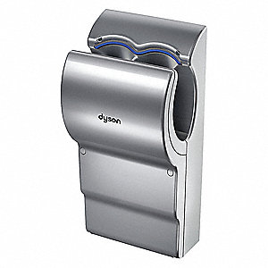 Hand Dryer, Integral,Polycarbonate ABS