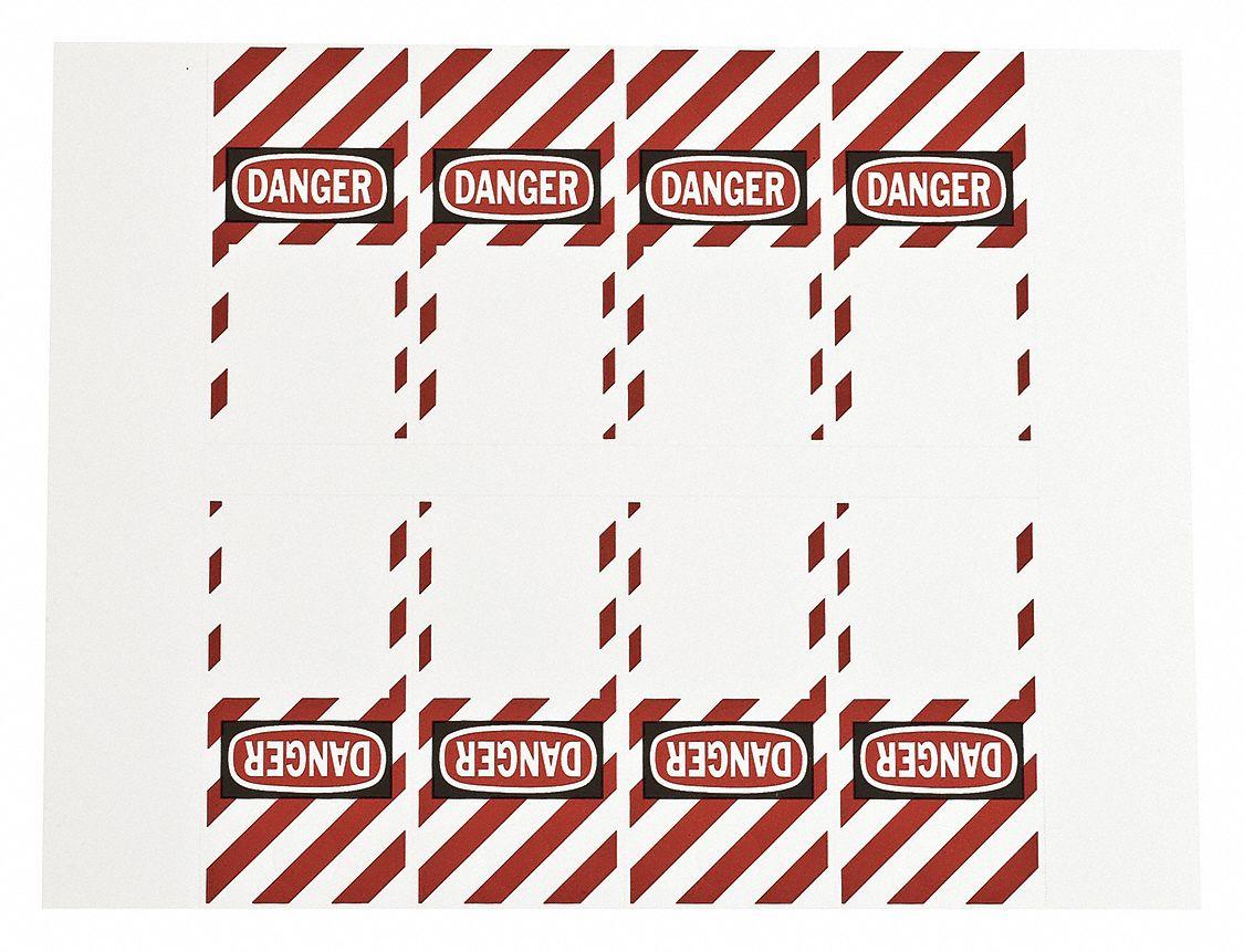 Brady 121550 GlobalMark OSHA Danger Sign 270 Labels per Roll