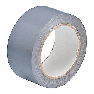 "Aisle Marking Tape, Solid, Continuous Roll, 2"" Width, 1 EA"