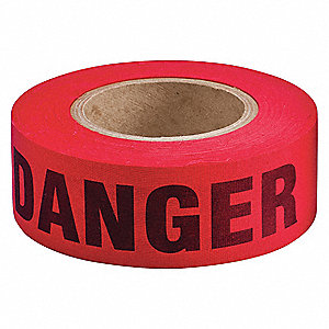 Barricade Tape, Danger
