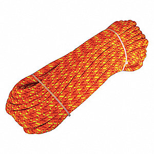 CLIMBING ROPE 1/2IN X 150FT 12STR