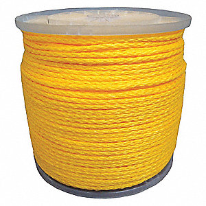 Rope,1/4 in. x 1000 ft.,Braided